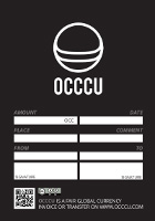 Occcu Folder and Cheque